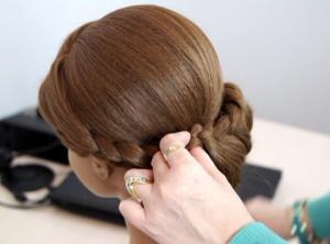 Kvinna frisyr